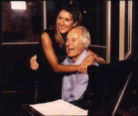 George Martin with Celine Dion